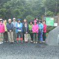 米川登山教室開催予定が・・・