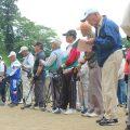 米川地区グラウンド・ゴルフ大会開催